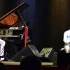 Auditorium di Roma durante il concerto svoltosi giovedì 23 novembre 2017. Sosa, Keita e Ovalles